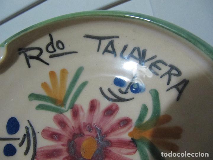 Antigüedades: Cenicero RDO talavera - Foto 4 - 195246957