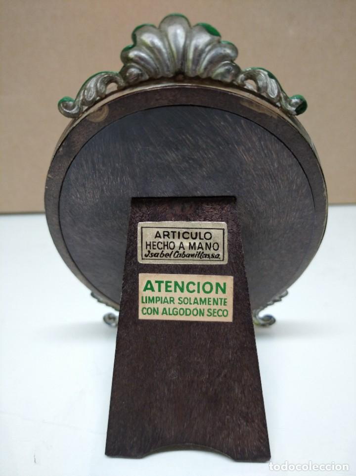 Antigüedades: Marco para fotos. Articulo hecho a mano. Isabel Cabanillas S.A. - Foto 2 - 195247832