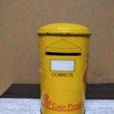 Antigüedades: HUCHA CON DIBUJOS DE LA CAJA POSTAL, CORREOS.. Lote 195247870