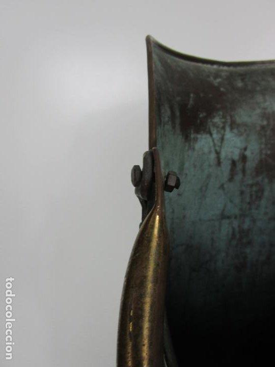 Antigüedades: Jarra, Carbonera Cobre - Asas de Latón - Ideal Bastonero, Decoración - Foto 8 - 195259868