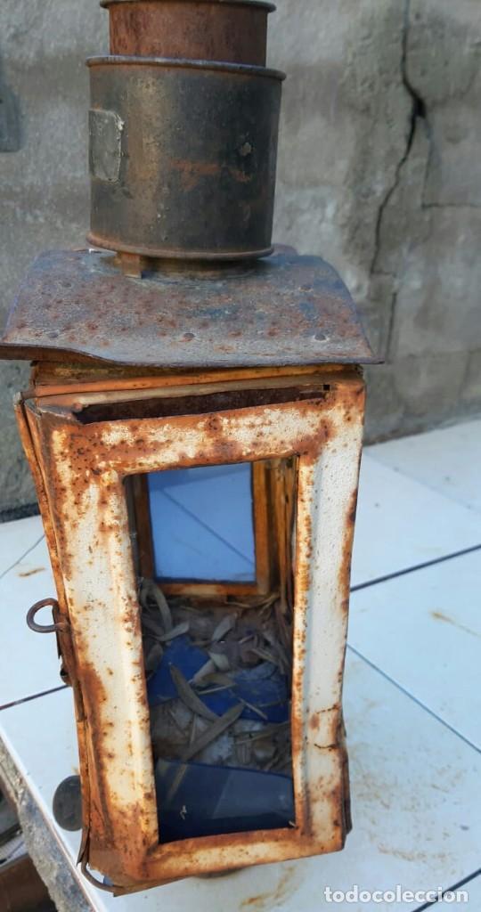 Antigüedades: Farol de Renfe - Foto 2 - 195260358