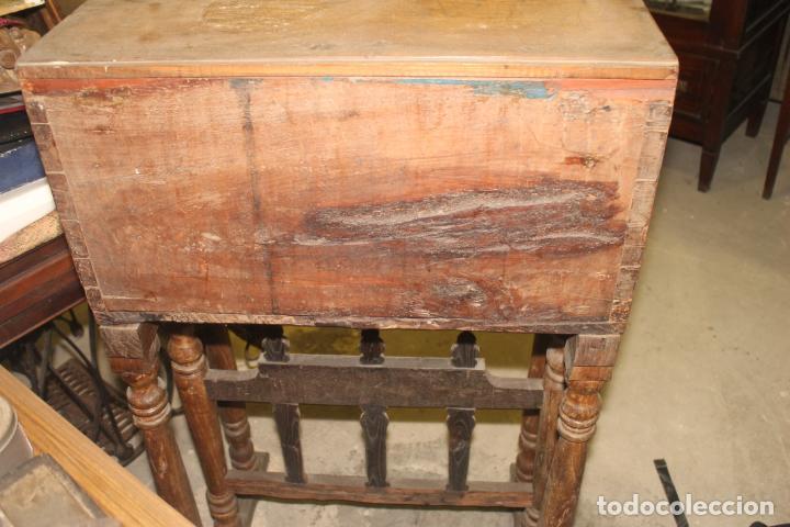 Antigüedades: BARGUEÑO, MARQUETERIA ASTURIANA, SIGLOS XVI-XVII, - Foto 9 - 195262266