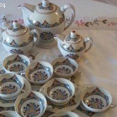 Antigüedades: JUEGO DE CAFE LIMOGES VINTAGE. Lote 195266682