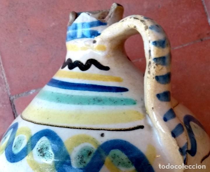 Antigüedades: JARRA (ALCUZA) DE PUENTE DEL ARZOBISPO. SIGLO XIX. - Foto 4 - 195268957