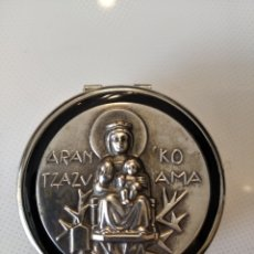 Antigüedades: CAJA PASTILLERO VIRGEN LOURDES. Lote 195270030