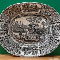 Antigüedades: FUENTE DE SARGADELOS. MARCA INCISA. PERFECTO ESTADO.. Lote 195271853