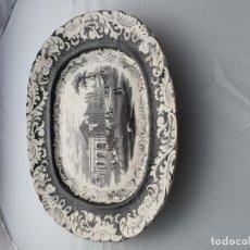 Antigüedades: GRAN FUENTE SARGADELOS VISTAS CUBA TEATRO TACON 48CMSX 41 CMS. Lote 195274018