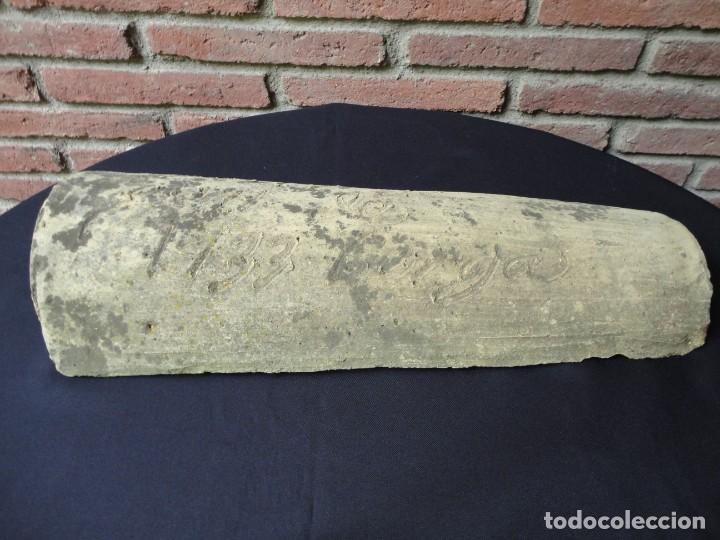 Antigüedades: Tejeria catalana: Berga (Comarca del Berguedà) 1733 - Foto 2 - 195275318