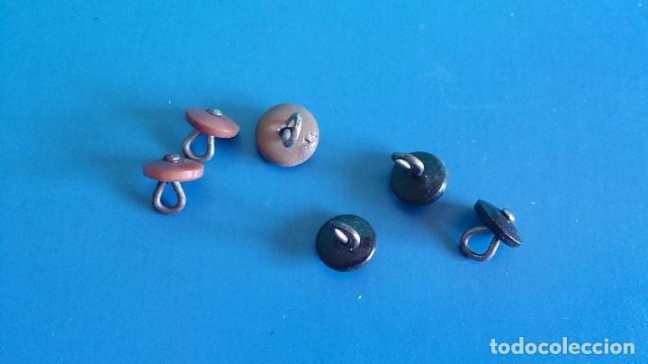 Antigüedades: LOTE BOTONES ANTIGUOS - Foto 3 - 195275390