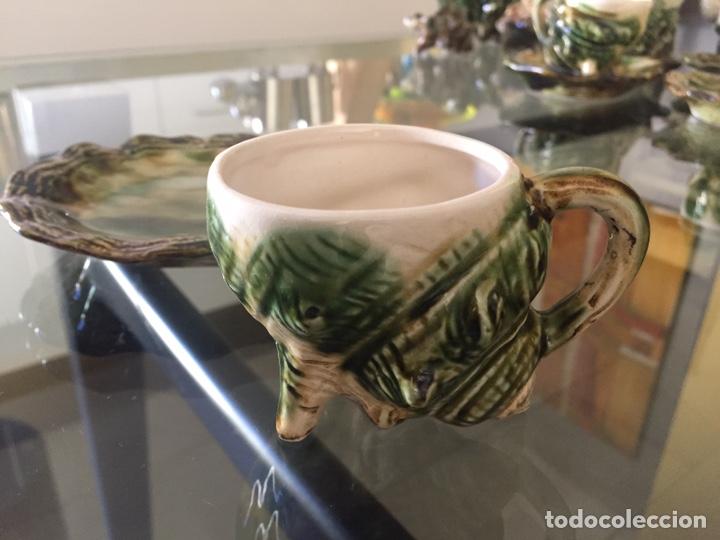 Antigüedades: MAYOLICA. JUEGO DE CAFÉ Y TE AÑOS 50 , JAPONES PARA LA EXPORTACION - Foto 7 - 195276435