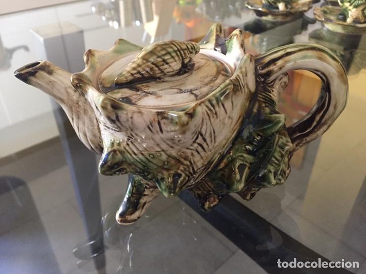 Antigüedades: MAYOLICA. JUEGO DE CAFÉ Y TE AÑOS 50 , JAPONES PARA LA EXPORTACION - Foto 10 - 195276435