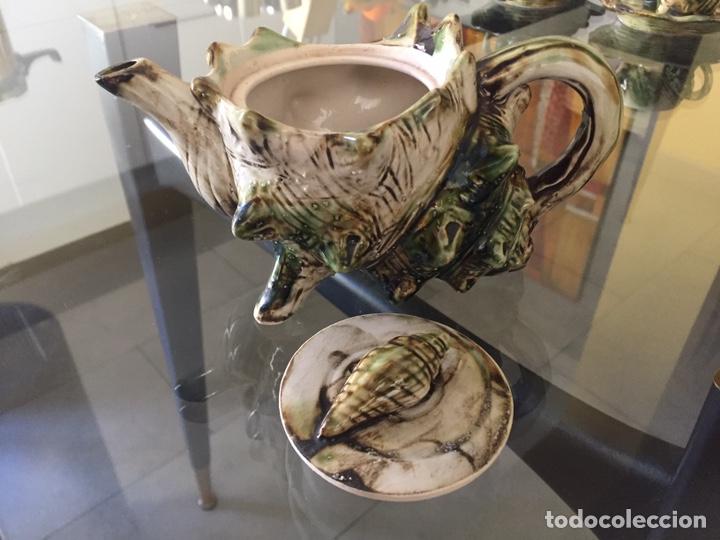 Antigüedades: MAYOLICA. JUEGO DE CAFÉ Y TE AÑOS 50 , JAPONES PARA LA EXPORTACION - Foto 11 - 195276435