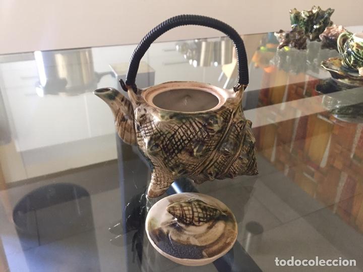 Antigüedades: MAYOLICA. JUEGO DE CAFÉ Y TE AÑOS 50 , JAPONES PARA LA EXPORTACION - Foto 15 - 195276435