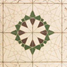 Antigüedades: ANTIGUO SUELO HIDRÁULICO 1, FINALES DE XIX. Lote 195277567