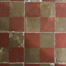 Antigüedades: ANTIGUO SUELO HIDRÁULICO 4, FINALES DE XIX. Lote 195277956