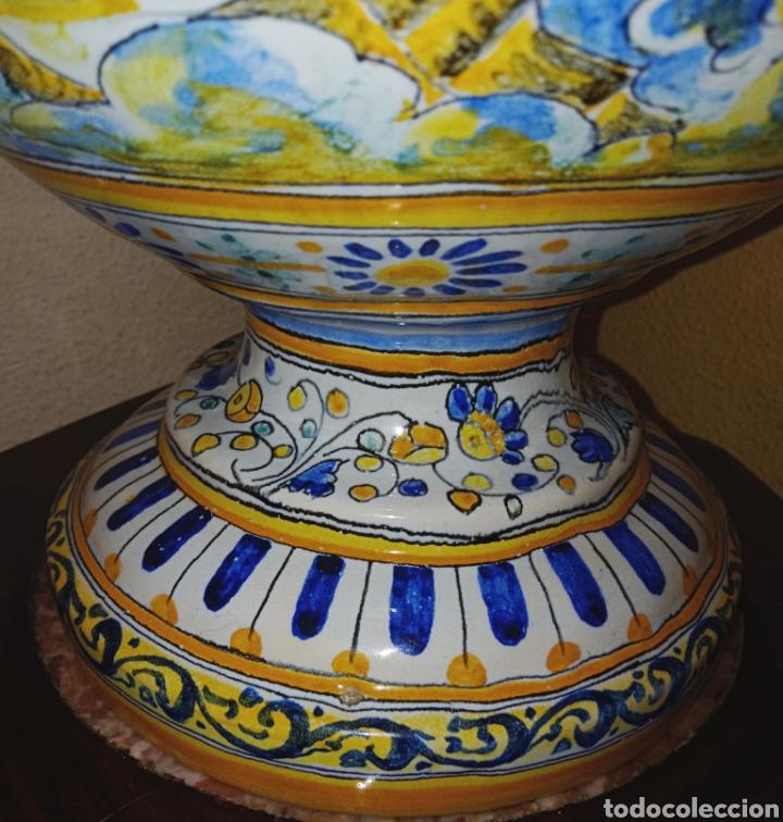 Antigüedades: JARRON DE DOS ASAS - CERAMICA DE MANISES - FINALES DEL SIGLO XIX - PIEZA UNICA -DE COLECCION PRIVADA - Foto 7 - 195278808