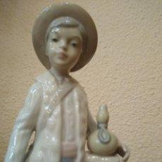 Antigüedades: NIÑO PASTOR PORCELANA LLADRÓ ROSAL O LLADRÓ TANG. AÑOS 60.. Lote 195280402
