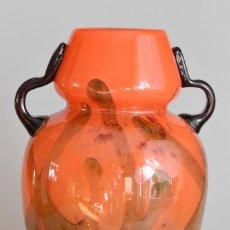 Antigüedades: CHARLES SCHNEIDER – GRAND VASE ART DECO – VERRE MULTICOUCHE – FRANCE, CA 1920.. Lote 195288006