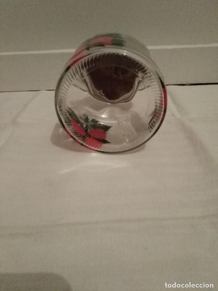 Antigüedades: Antiguo tarro cristal con tapón de madera. - Foto 3 - 195291766