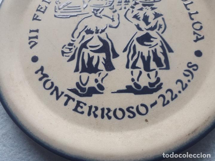 Antigüedades: Plato Conmemorativo de Burelarte. VII Feira Queixo da Ulloa. 22 de Febrero de 1998. - Foto 4 - 195296971