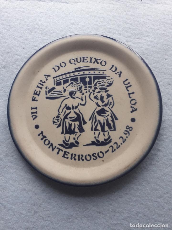 PLATO CONMEMORATIVO DE BURELARTE. VII FEIRA QUEIXO DA ULLOA. 22 DE FEBRERO DE 1998. (Antigüedades - Hogar y Decoración - Platos Antiguos)