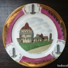 Antigüedades: PLATO DECORATIVO, PISA, EL DUOMO. Lote 195299270