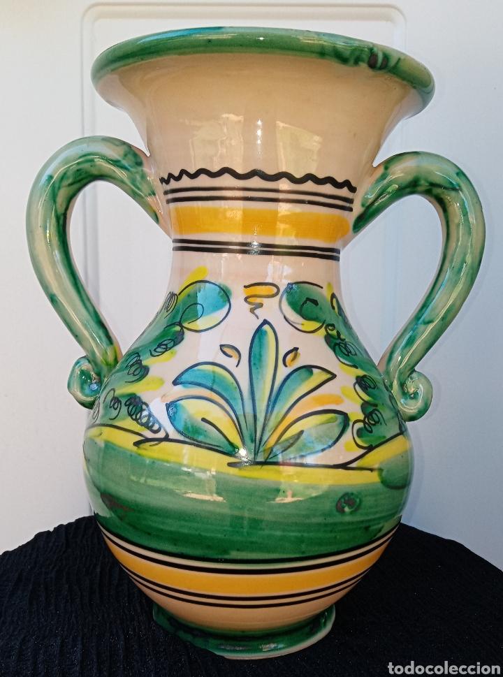 Antigüedades: JARRA DE CERAMICA - PODRIA SER DE PUENTE DEL ARZOBISPO - LIEBRE - Foto 6 - 195299523