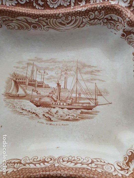 Antigüedades: Legumbres sargadelos vistas Cuba. - Foto 6 - 195300242