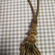 Antigüedades: ANTIGUO CINGULO ECLESIASTICO HILO ORO. Lote 195301646