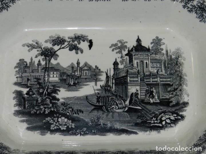 Antigüedades: (M) BANDEJA ANTIGUA PICKMAN Y CIA SEVILLA, 33,5X26X8CM, BUEN ESTADO - Foto 2 - 195303330