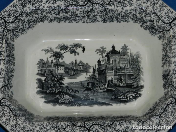 Antigüedades: (M) BANDEJA ANTIGUA PICKMAN Y CIA SEVILLA, 33,5X26X8CM, BUEN ESTADO - Foto 3 - 195303330