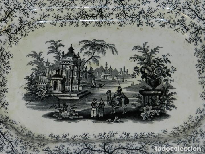 Antigüedades: (M) BANDEJA ANTIGUA PICKMAN Y CIA SEVILLA, 34,5X26X3,5CM, BUEN ESTADO - Foto 2 - 195303526