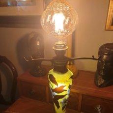 Antigüedades: LAMPARA DAUM. Lote 195305212