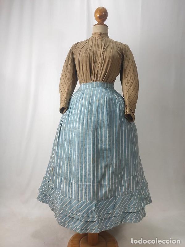 ANTIGUA SAYA BARRERA (Antigüedades - Moda y Complementos - Mujer)