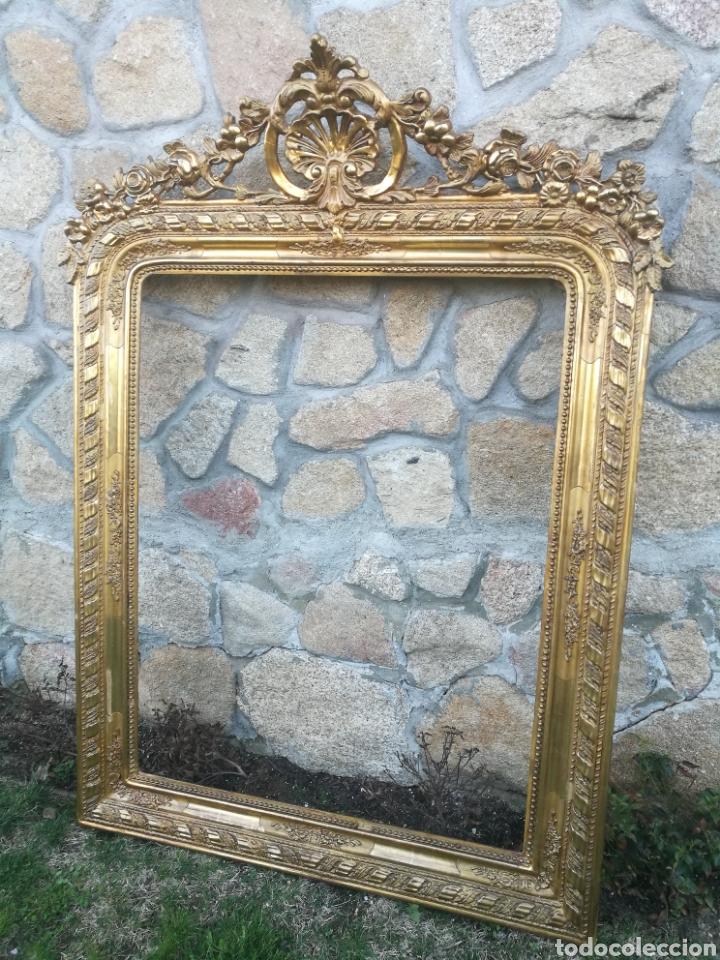 Antigüedades: Espejo siglo XIX - Foto 2 - 195312692