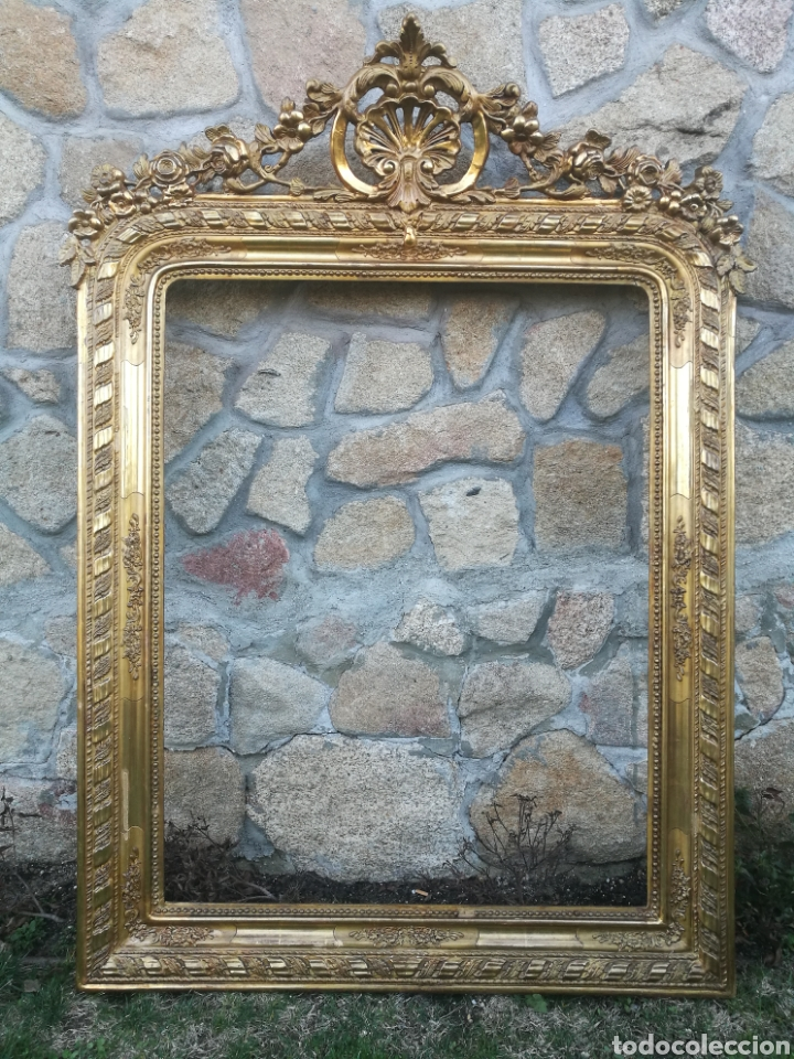 Antigüedades: Espejo siglo XIX - Foto 5 - 195312692