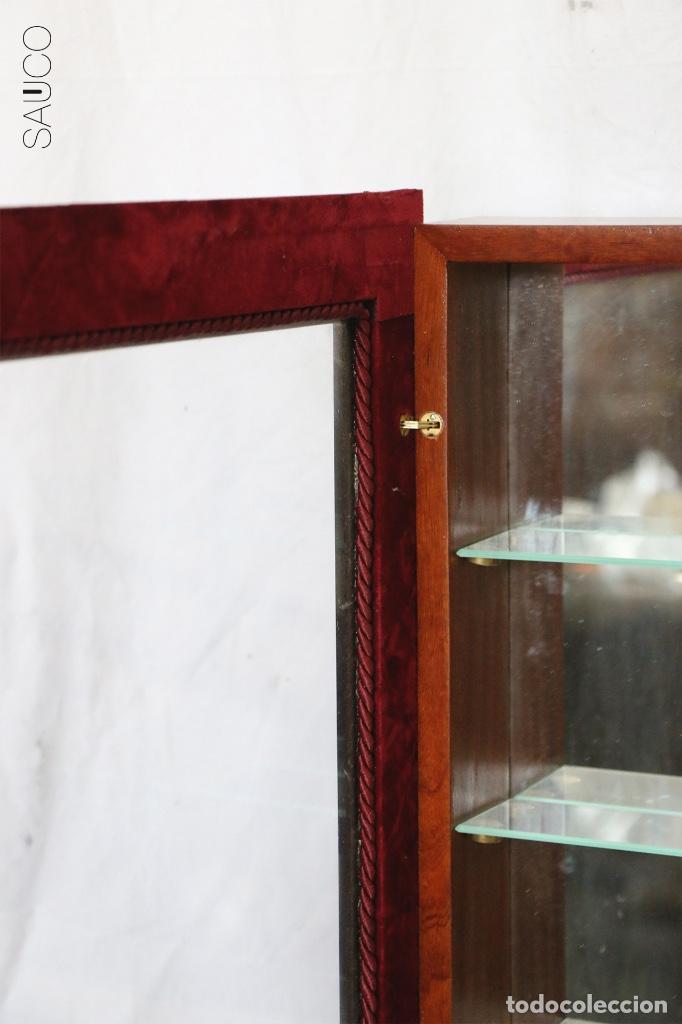 Antigüedades: VITRINA DE MADERA - Foto 3 - 195315143