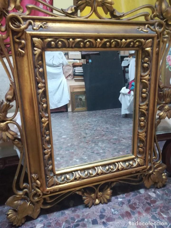 Antigüedades: espejo modernista - Foto 2 - 195317997