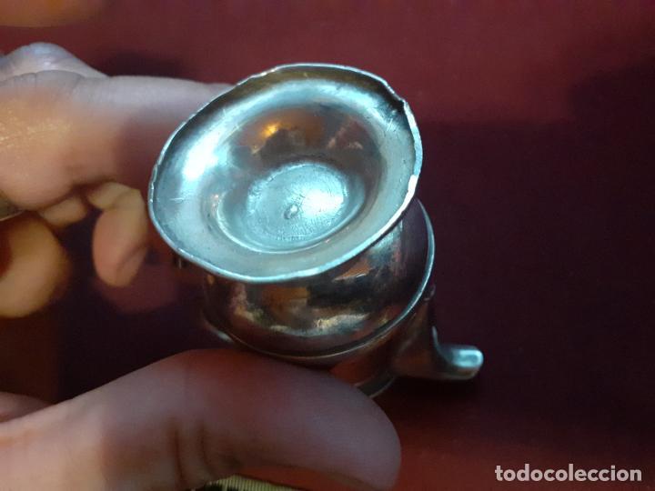 Antigüedades: Copa antigua de plata contrastada - Foto 5 - 195318683