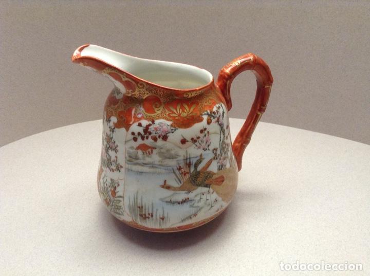 JARRITA PORCELANA KUTANI (S.XIX) (Antigüedades - Porcelana y Cerámica - Japón)