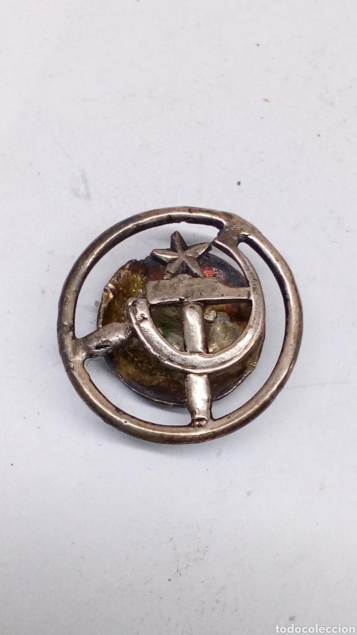 PASABOTONES DE PLATA (Antigüedades - Platería - Plata de Ley Antigua)