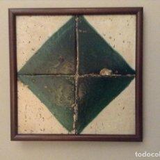Antigüedades: AZULEJOS VALENCIANOS DEL MOCAORET (S. XVIII). Lote 195322242