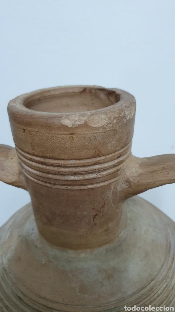 Antigüedades: Cerámica Española Extinguida. Cántaro región de Murcia. - Foto 7 - 195324546