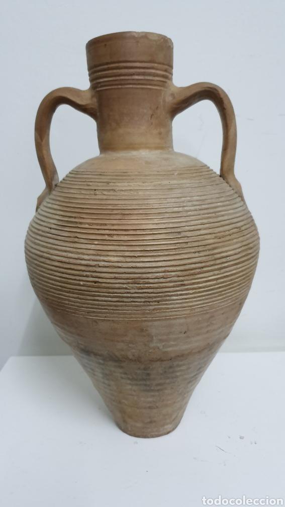 CERÁMICA ESPAÑOLA EXTINGUIDA. CÁNTARO REGIÓN DE MURCIA. (Antigüedades - Porcelanas y Cerámicas - Otras)