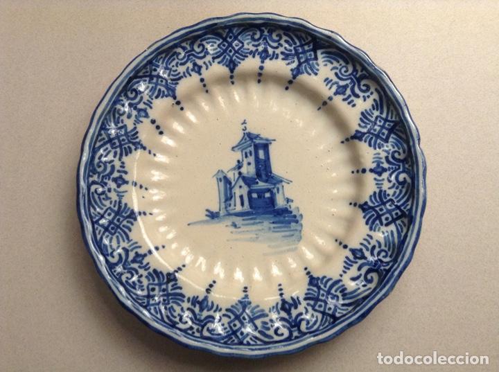 PLATO TALAVERA MONTEMAYOR (Antigüedades - Porcelanas y Cerámicas - Talavera)