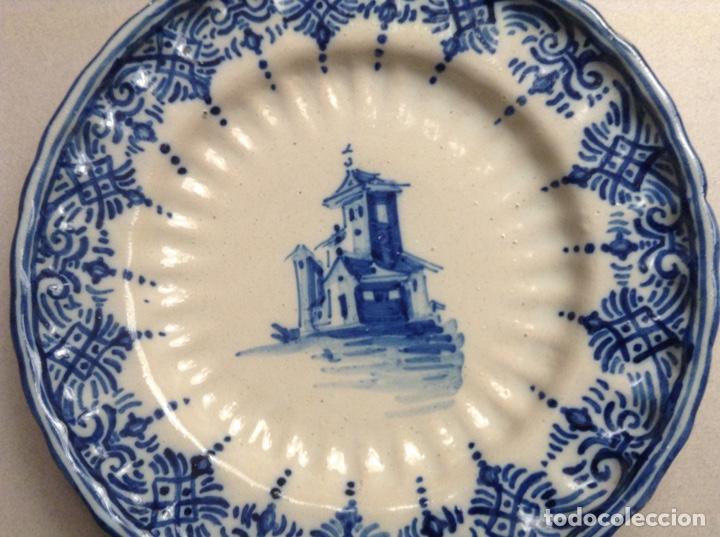 Antigüedades: PLATO TALAVERA MONTEMAYOR - Foto 2 - 195324768