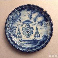 Antigüedades: PEQUEÑO PLATO TALAVERA NIVEIRO. Lote 195325526