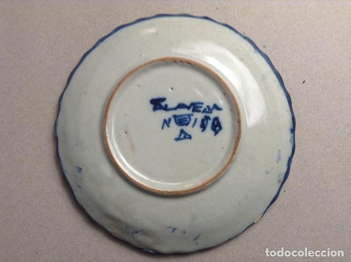 Antigüedades: PEQUEÑO PLATO TALAVERA NIVEIRO - Foto 4 - 195325526