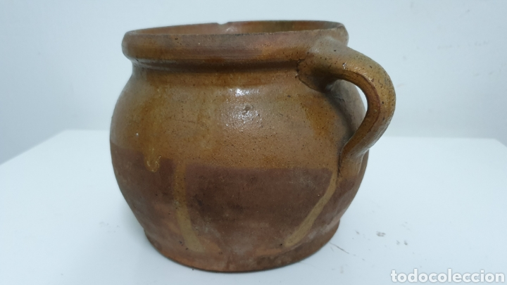 CERÁMICA ESPAÑOLA EXTINGUIDA. PUCHERO. (Antigüedades - Porcelanas y Cerámicas - Otras)