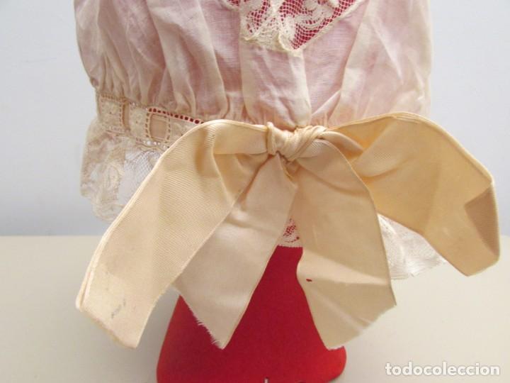 Antigüedades: GORRO FEMENINO FINALES DEL XIX PRINCIPIOS DEL XX - Foto 9 - 195330195